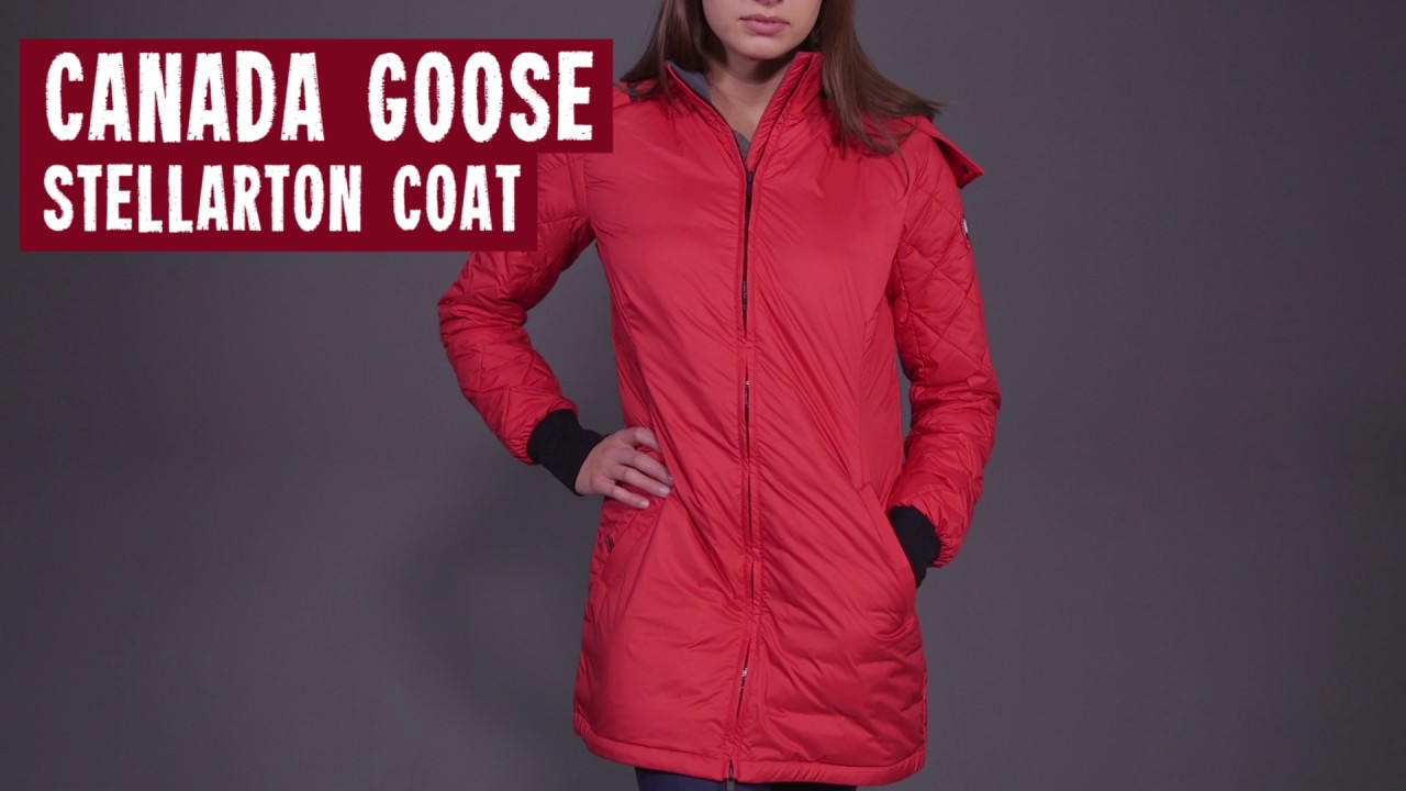 mr energy u0027s canada goose women u0027s stellarton coat youtube