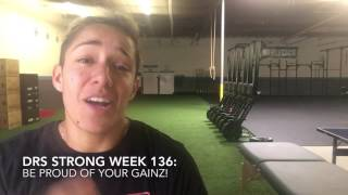 DRS Strong Week 136: Be proud of your gainz!!