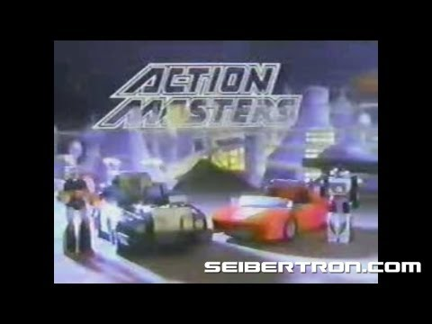 Transformers G1 Action Masters commercial #3 - Attack Vehicles (version 1)