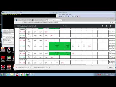 2  安裝Serial 軟體RealTerm,並取得LoRa韌體版本編號 – iFROG LAB