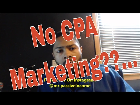 Why I Don't Do CPA Marketing Anymore!! (Affiliate Marketing For Beginners)