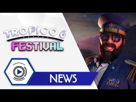 Анонсировано новое DLC для Tropico 6 – Festival, оно выходит уже в августе
