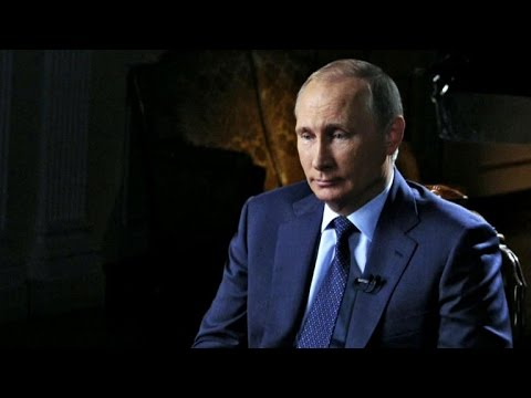 Charlie Rose interviews Vladimir Putin