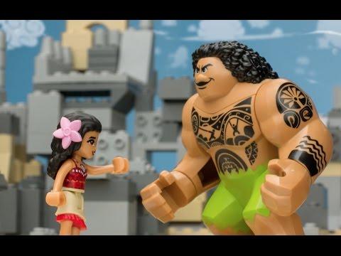 """Moana"" Movie as Told by LEGO - LEGO Disney Princess - Mini-Movie"