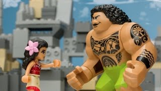 """Moana"" Movie as Told by LEGO - LEGO Disney Princess - Mini-Movie"