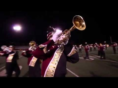 2015 Kutztown University Marching Unit at Manheim Township High School