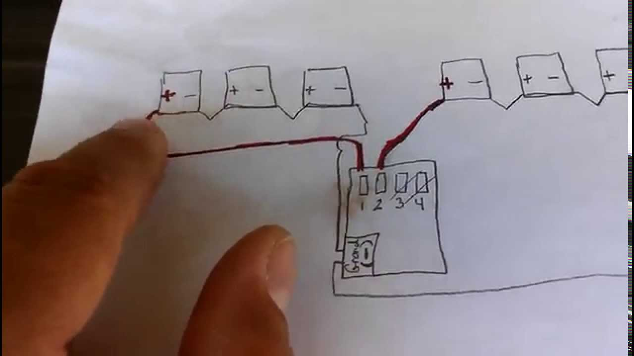 Installing Solar System Array Wiring Youtube Pv Diagram