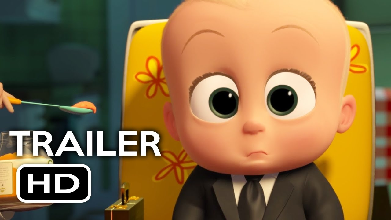 The Boss Baby Official Trailer 1 2017 Alec Baldwin