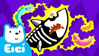 전기뱀장어 송 ♪ (feat. 상어) | 동물동요 | 새로운 티디 인기동요 채널을 만나보세요! | 어린이 인기동요★지니키즈
