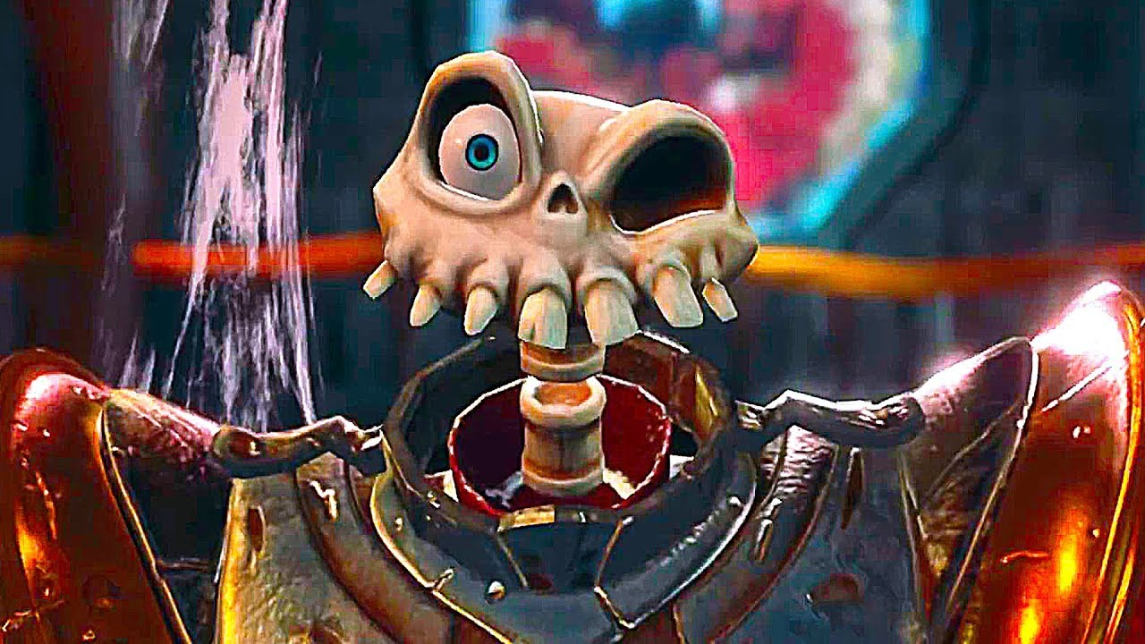 Medievil Ps4 Gameplay Trailer 2019 Youtube
