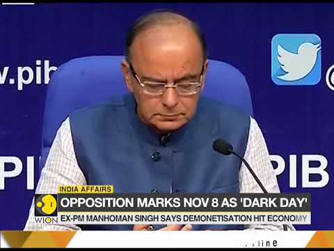 Opposition launches all-out attack against Modi govt on demonetisation anniversary Mp3