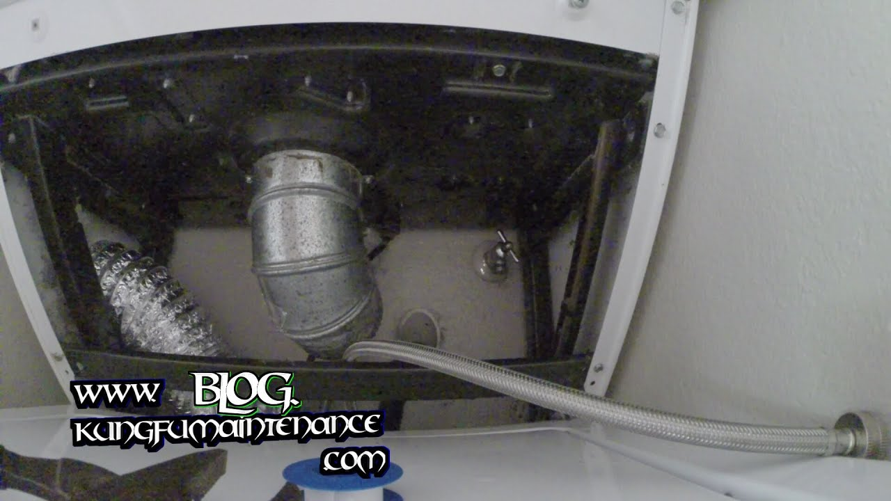 How To Replace Leaking Laundry Clothes Washing Machine