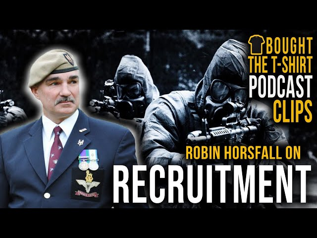 SAS Legend On The 'Snowflake' Recruitment Campaign | Podcast CLIP | Robin Horsfall