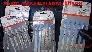 JIG SAW BLADES