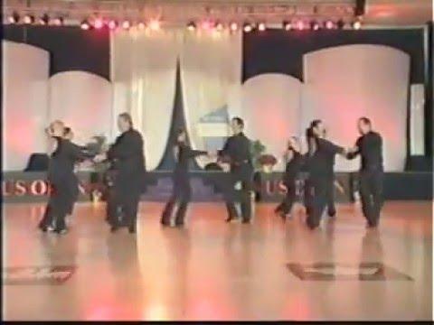 Shazam is All Stars West Coast Swing Dance Team