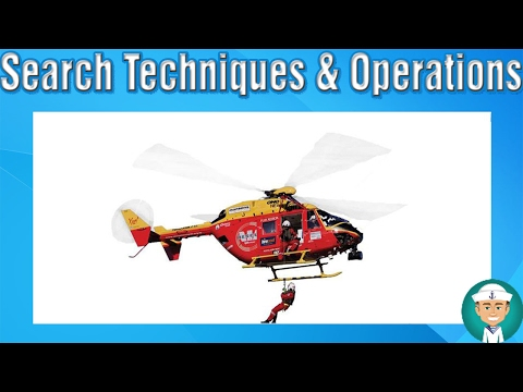 Search Techniques and Operations - Planning And Conducting Search