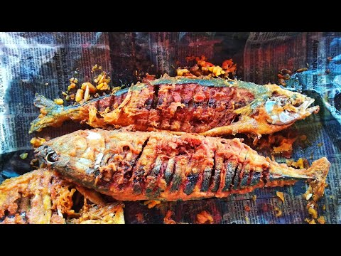 Cox Bazar Hotel | Big Fish Fry At Cox's Bazar  Restaurant | Delicious Food At Cox's Bazar Sea Beach