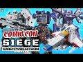 Transformers: SIEGE WFC Decepticon Toyline Shockwave, Megatron, Starscream - NYCC 2018