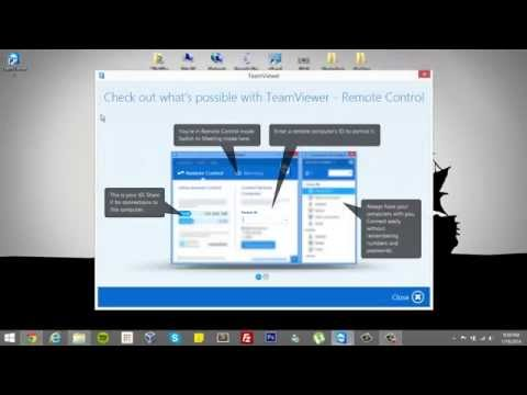 How to download and install TeamViewer 9 in Windows 8.1
