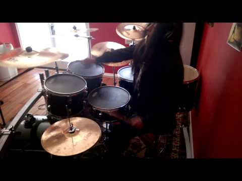 Design the skyline: surrounded by silence (drum cover)