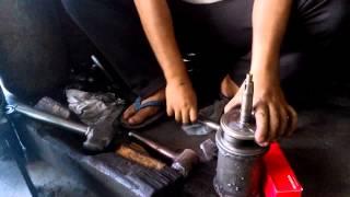 fastest crankshaft rebuild removal balancing 4 strokes motorcycle