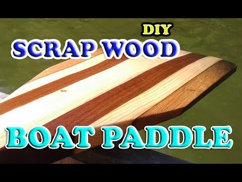 DIY Canoe Paddle from Scrap Wood