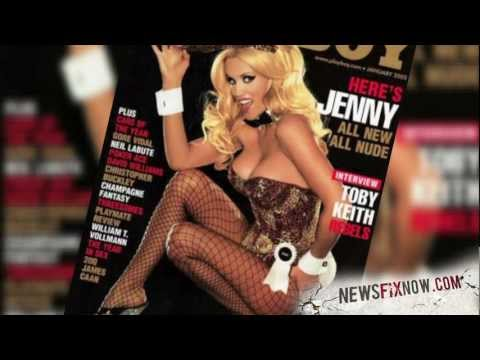 Jenny McCarthy performing Yoga in her underwear for a BTS photoshoot from YouTube · Duration:  38 seconds