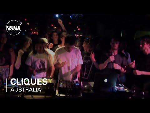 Cliques Boiler Room Australia LIVE Show