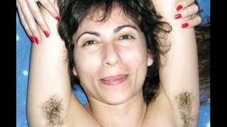 girls with hairy underarms