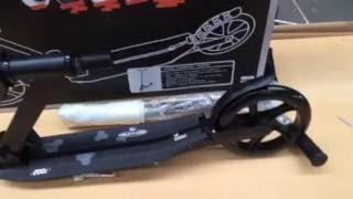 Voksen løbehjul 210mm Nijdam suspension GENNEMGÅS