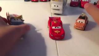 Disney Pixar cars 2 Cartney Carsper diecast review
