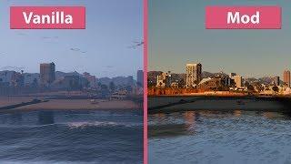 [4K] The Best GTA 5 Graphics Mod? NaturalVision Remastered Comparison [Revisit]