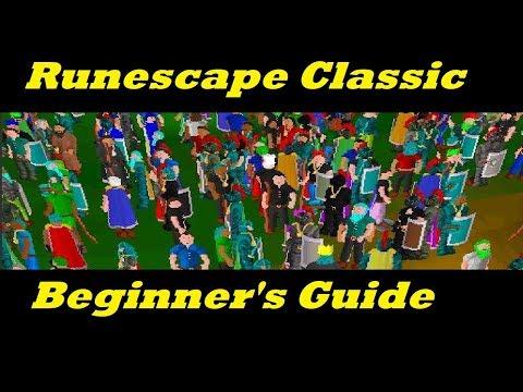 Runescape Classic Starter Guide (GP/Food/Gear)