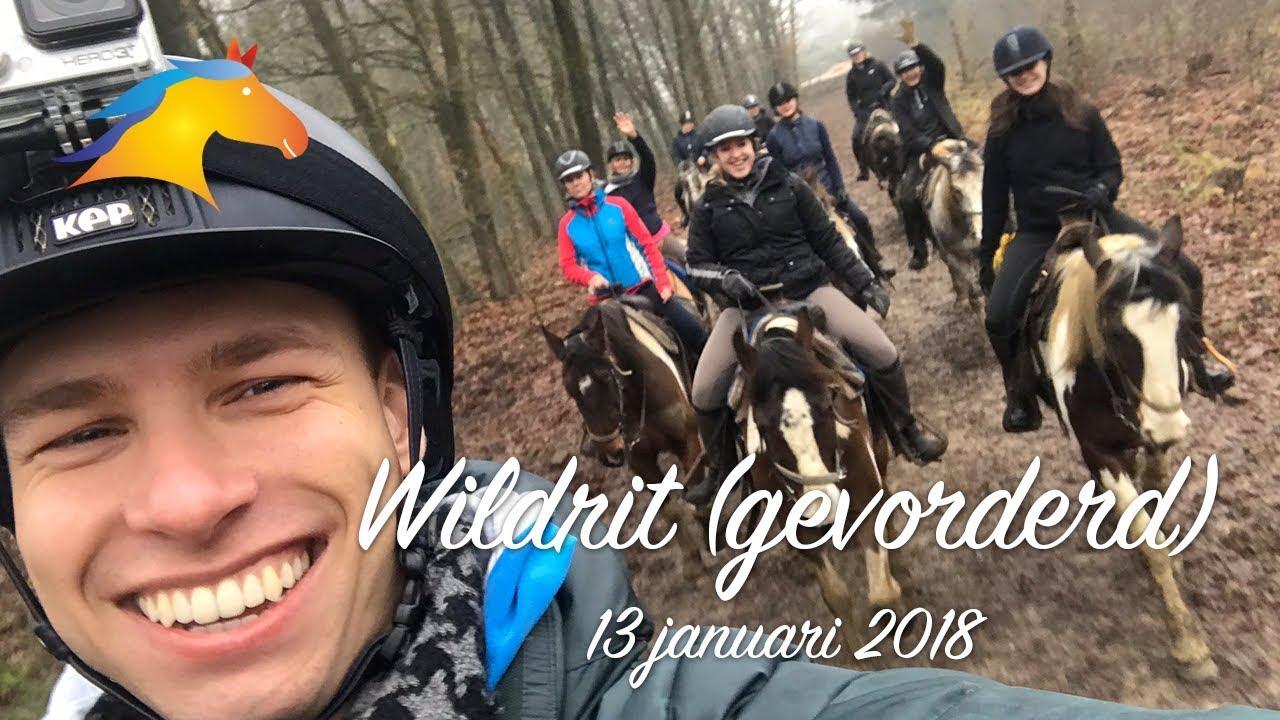 Wildrit (gevorderd) - The Mill Ranch - 13 januari 2018 | MeerBuitenritten.nl