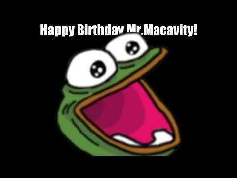 Happy Birthday Mr.Macavity!
