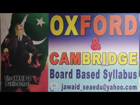Oxbridge School PIA Socity Gulistan e joher Karachi.