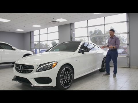 Talking To The 2017 C43 Amg Coupe For At Mercedes Benz Of Arrowhead C Cl You