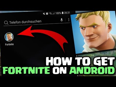 How To Get FORTNITE MOBILE On ANDROID!