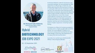 Opening address - Sir Richard Roberts, New England Biolabs