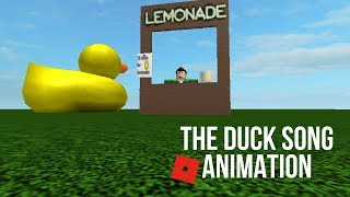 The Duck Song Roblox Animation!