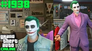 GTA 5 ONLINE #1938 So macht man sich den Joker Look Let`s Play GTA V Online PS4 YU91
