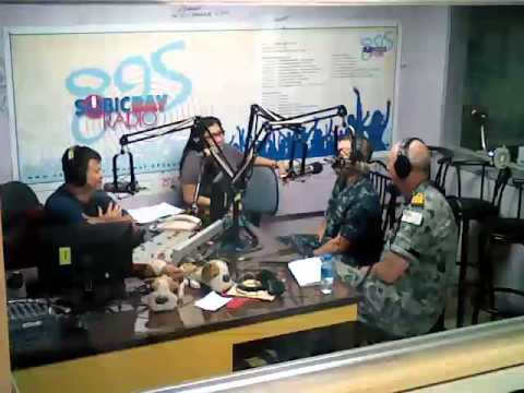 Tim & Brian of USNS Mercy on the Morning Brew