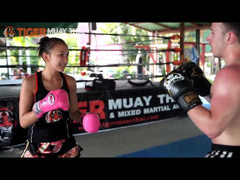Muay Thai Angel Jade Sirisompan at Tiger Muay Thai