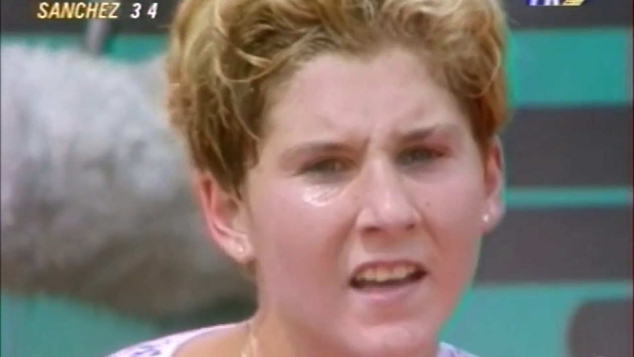 Monica Seles vs Arantxa Sanchez Vicario 1991 RG Highlights