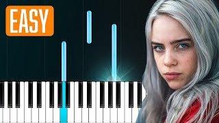 """Billie Eilish - """"My Boy"""" 100% EASY PIANO TUTORIAL"""