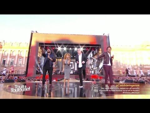 Garou, Amir, Slimane et Tal - Medley - Fête de la musique 2016