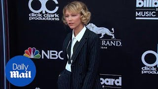 Grace Vanderwaal suits up on the Billboard Awards red carpet - Daily Mail