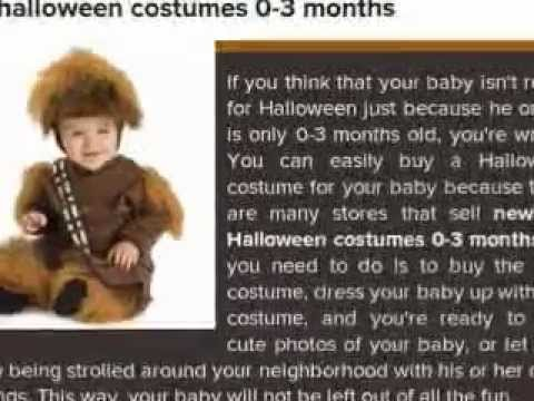 Newborn Halloween Costumes 0-3 Months  sc 1 st  YouTube : 0 3 months halloween costumes  - Germanpascual.Com