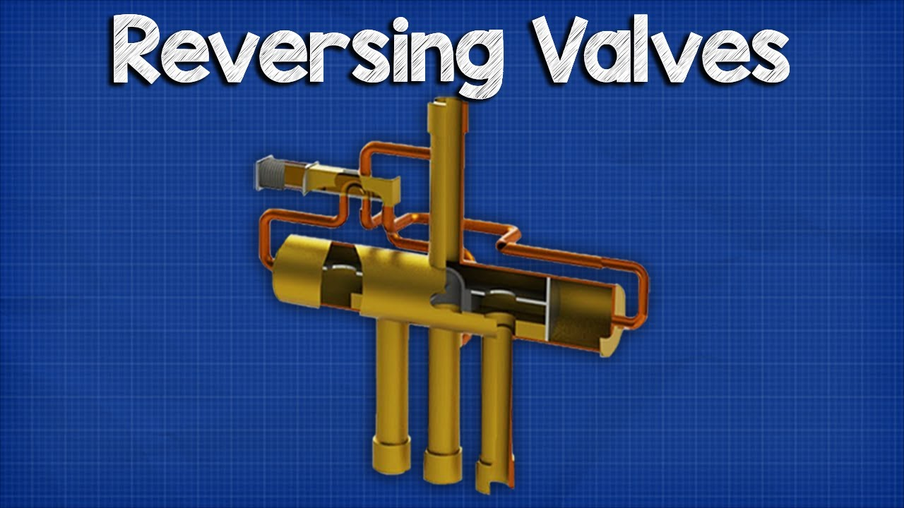 reversing valve heat pump how it works operation  [ 1280 x 720 Pixel ]