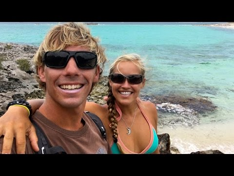 Young Liveaboard Couple Travel The Bahamas With Their Dog